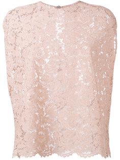 кружевная блузка Valentino