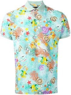 футболка-поло с принтом морских существ Etro