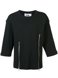 Liam zip front T-shirt Chapter