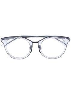 очки с квадратной оправой Bottega Veneta Eyewear