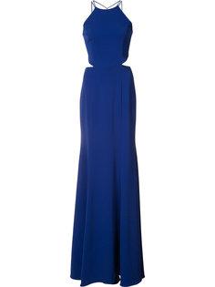 tassel detail cut-out gown Marchesa Notte