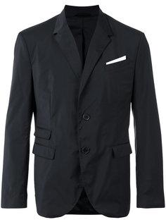 пиджак с нагрудным платком Neil Barrett