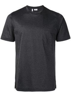 футболка с вышитым логотипом на кармане Brioni