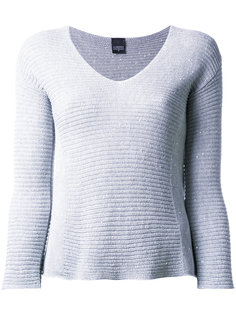 boat neck sweatshirt  Lorena Antoniazzi