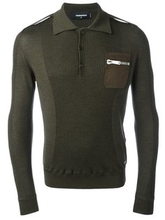 рубашка-поло с длинными рукавами Dsquared2