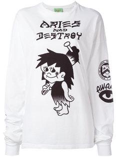 футболка с принтом Pagans  Aries