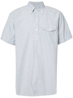 seersucker short sleeve shirt Engineered Garments