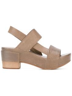 platform sandals  Roberto Del Carlo