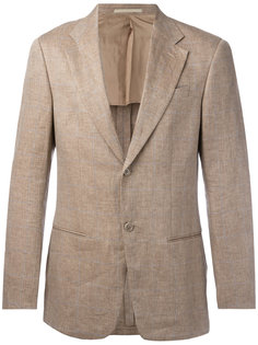 lightly checked blazer Armani Collezioni