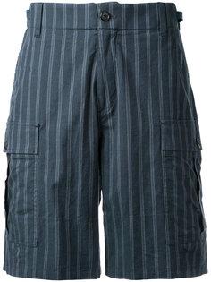 полосатые шорты Undercover