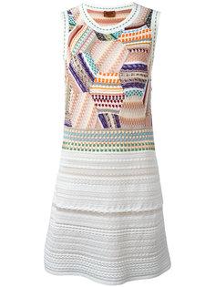 приталенное платье в стиле пэчворк Missoni