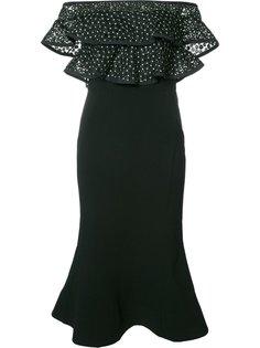 платье с открытыми плечами Farina Flare Rebecca Vallance