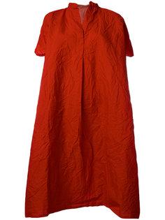 платье-футболка с воротником в китайском стиле  Daniela Gregis