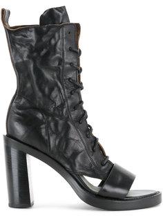 cut out heel boots Ann Demeulemeester