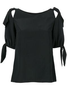 блузка с завязками на рукавах Dolce & Gabbana