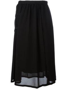 двухслойная юбка Comme Des Garçons Noir Kei Ninomiya