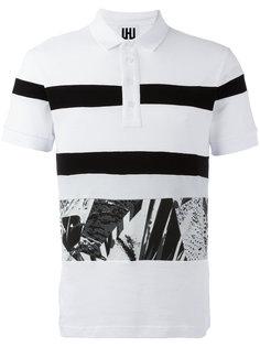 футболка-поло в полоску Les Hommes Urban