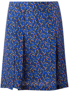 юбка мини со складками Cacharel