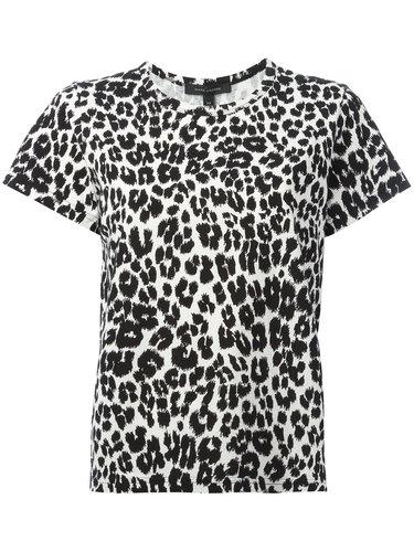 футболка с леопардовым рисунком Marc Jacobs
