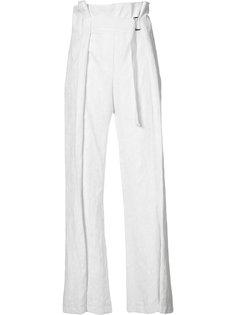 широкие брюки с ремнем Ann Demeulemeester