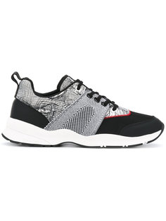 contrast panel sneakers  Dior Homme