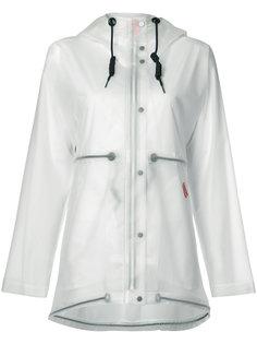 vinyl smock transparent coat Hunter