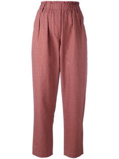 укороченные брюки с эластичным поясом Forte Forte