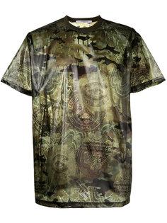 футболка с камуфляжным принтом Givenchy