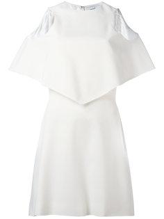 платье с открытыми плечами Courrèges
