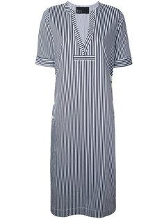 платье-рубашка в полоску N Duo