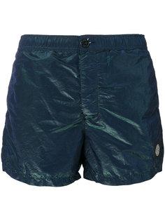iridescent swim shorts Stone Island
