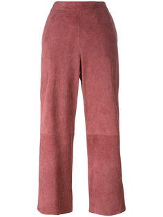 укороченные брюки с панельным дизайном Desa 1972