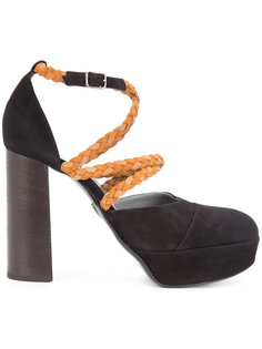braided strap pumps Ritch Erani NYFC
