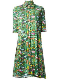платье-рубашка с принтом  Ultràchic