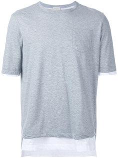 layered T-shirt  Wooster + Lardini