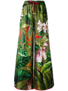 tropical print palazzo pants  F.R.S For Restless Sleepers