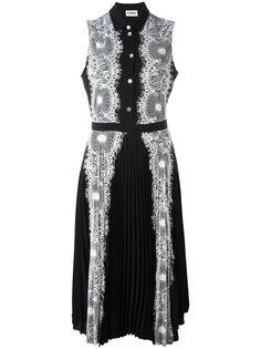 платье с кружевными вставками Ainea