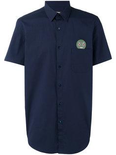 рубашка с заплаткой на груди Fendi