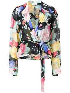 блузка Andrea с цветочным рисунком Attico