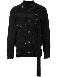 куртка на пуговицах с завязкой спереди Maison Mihara Yasuhiro