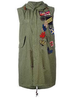 куртка с нашивками и капюшоном Mr & Mrs Italy