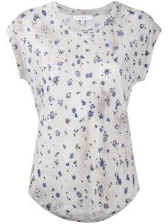 футболка с цветочным принтом Iro
