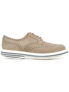 striped heel derby shoes Churchs