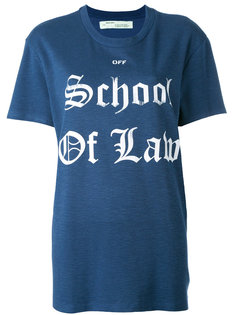 School of Law T-shirt  Off-White