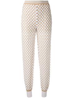 вязаные зауженные брюки Missoni