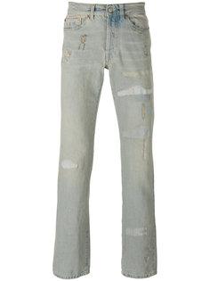 прямые джинсы с потертостями Htc Hollywood Trading Company