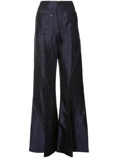 расклешенные брюки Esteban Cortazar