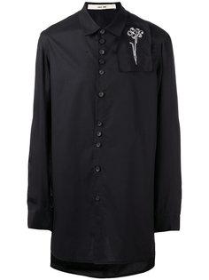 рубашка с вышивкой Damir Doma