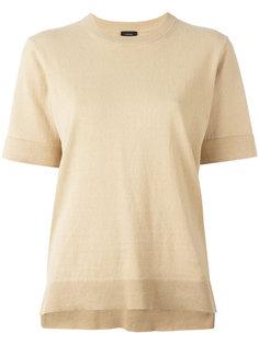 трикотажная футболка с круглым вырезом Joseph