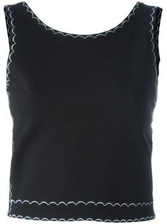 embroidered sleeveless top McQ Alexander McQueen